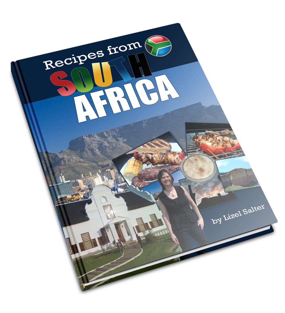 Recipes from South Africa book