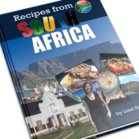 Recipes from South Africa cookbook