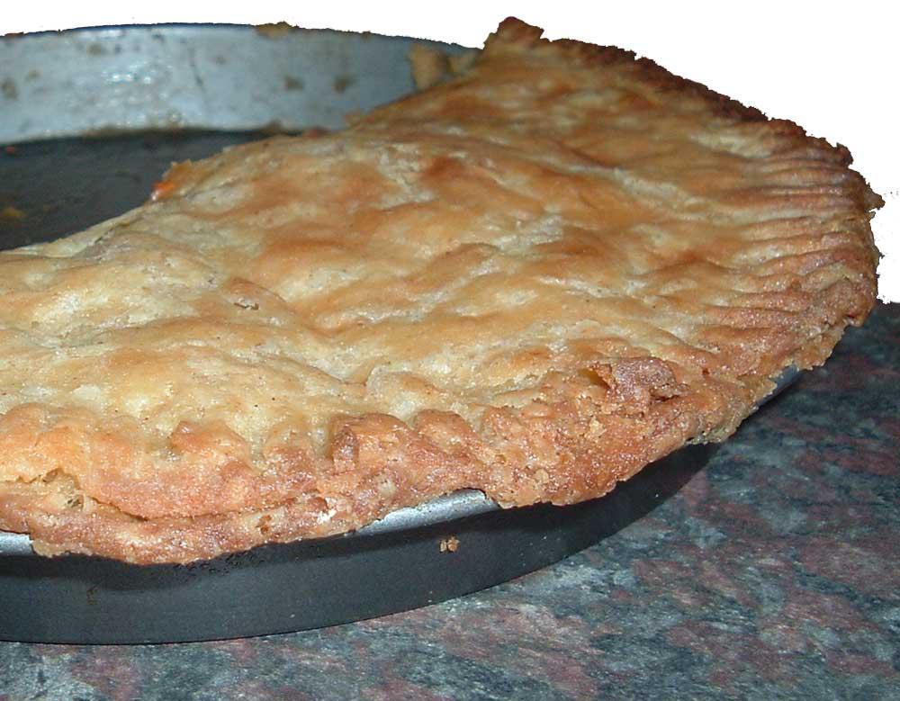 South African chicken pie