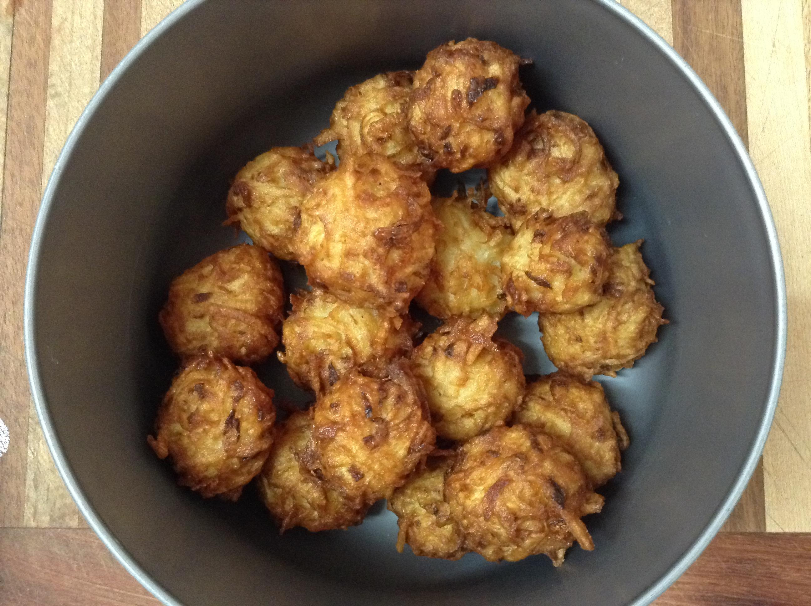 gluten free potato balls